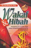 toko buku rahma: buku wakaf dan hibah, penerbit dra. siah khosyi'ah, m.ag, penerbit pustaka setia