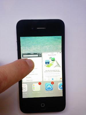 iPhone 4, iOS 7 Multitasking