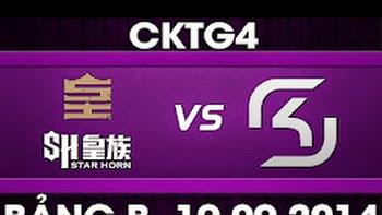 CK Thế Giới 2014 – Bảng B, SHR vs SK