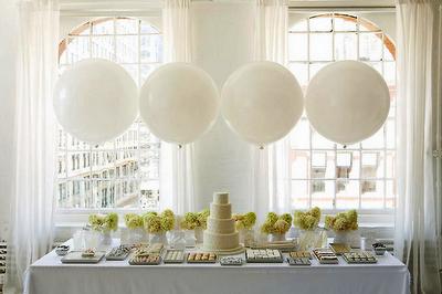 decoração casamento bexigas fotos corações balões
