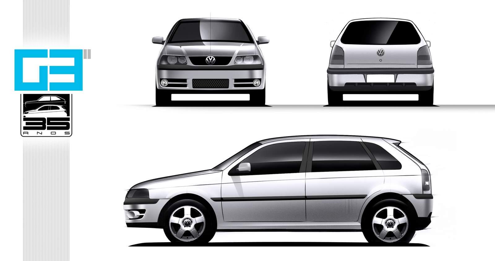 Volkswagen Gol G3 - 2ª EDIÇÃO