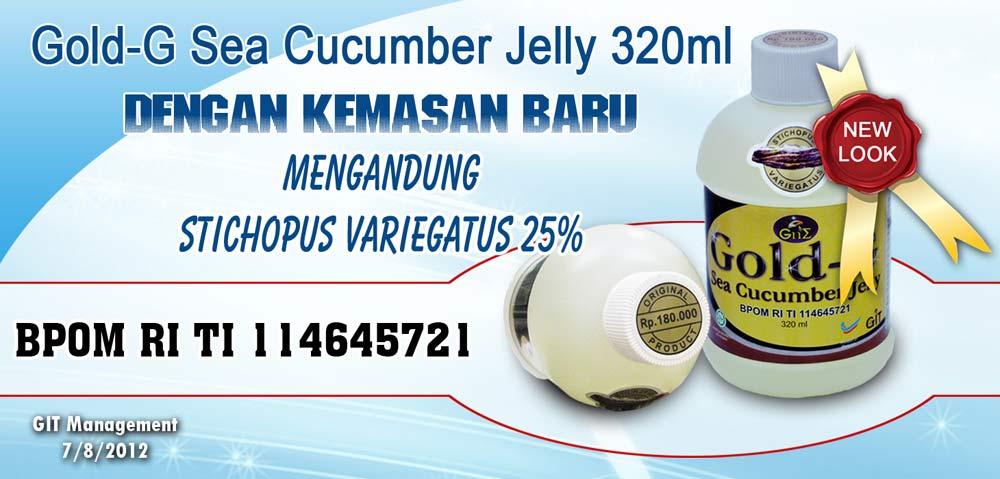 Agen Jelly Gamat Gold G Jawa Barat