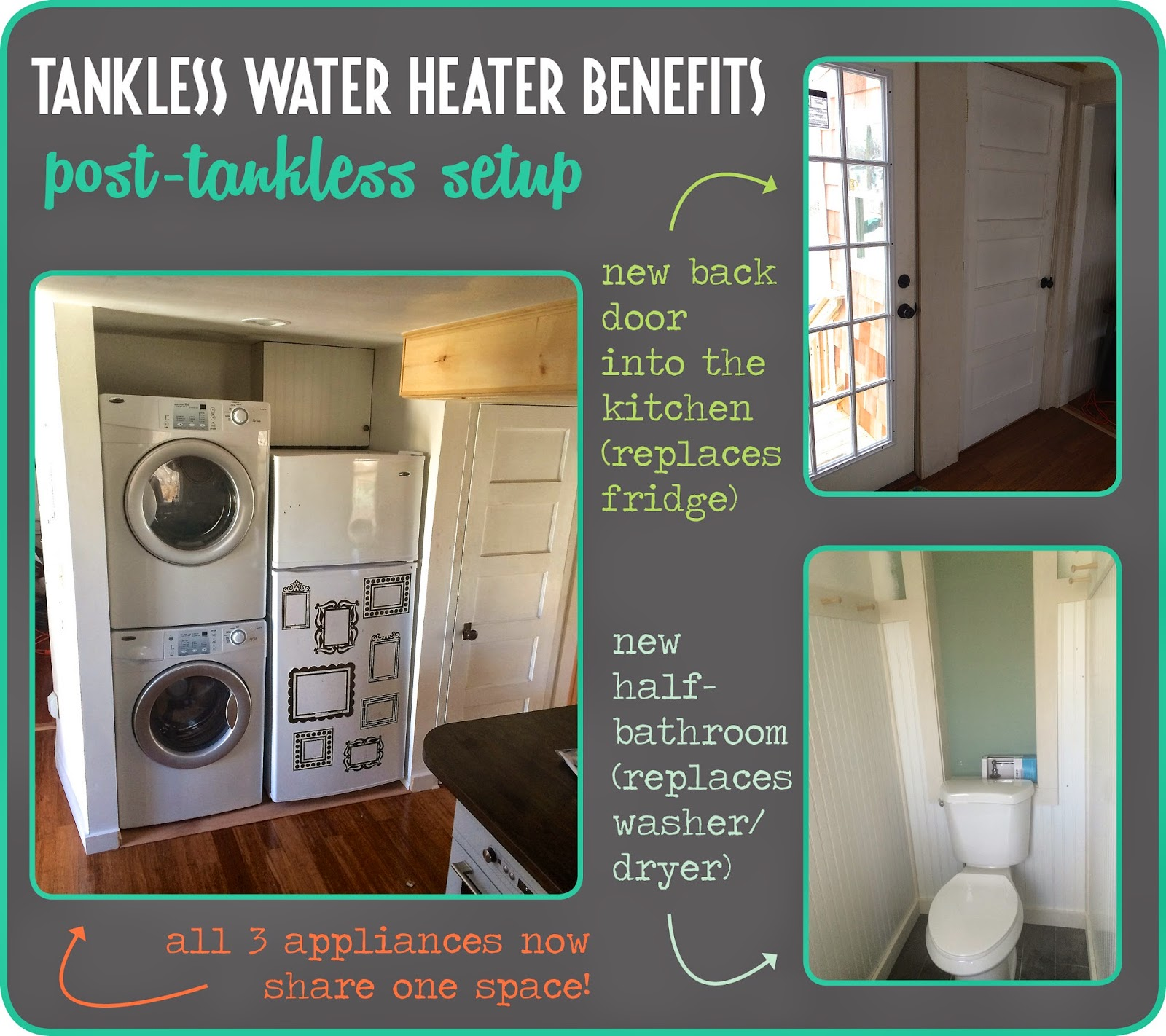 Benefits of a tankless water heater by thrifterindisguise.com