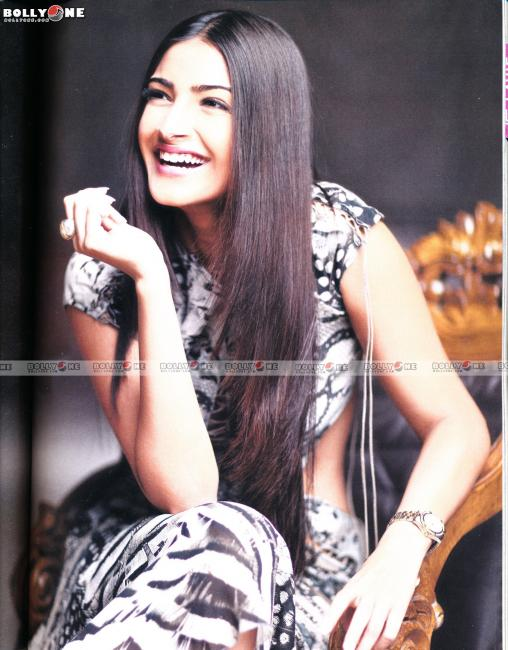 Beautiful Sonam Kapoor Photoshoot Scans From Marie Claire Magazine