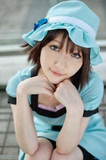 Kuuya cosplay as Shiina Mayuri from Steins;Gate