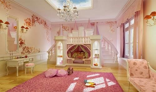 Comme une princesse ma fille se sentira for Les chambre pour filles