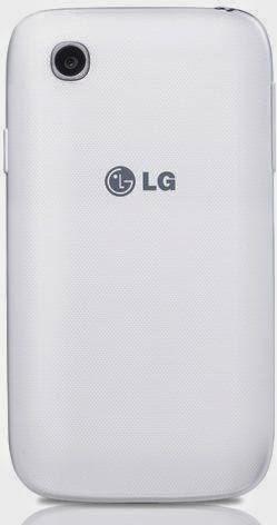 LG L40 Dual bagian belakang