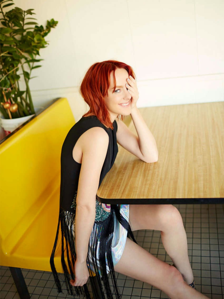 Jena Malone poses for ASOS Magazine March 2015