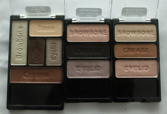 WET N WILD EYE SHADOW PALETTES