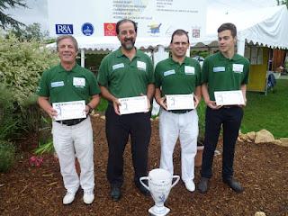 Quintas das Lagrimas Campeón Europa de de Clubs Pitch & Putt (IPPA)