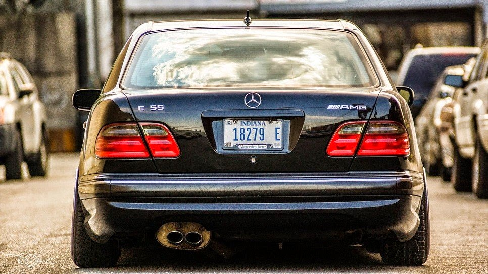 Mercedes benz w210 e55 amg stance style benztuning for 2007 mercedes benz e55 amg