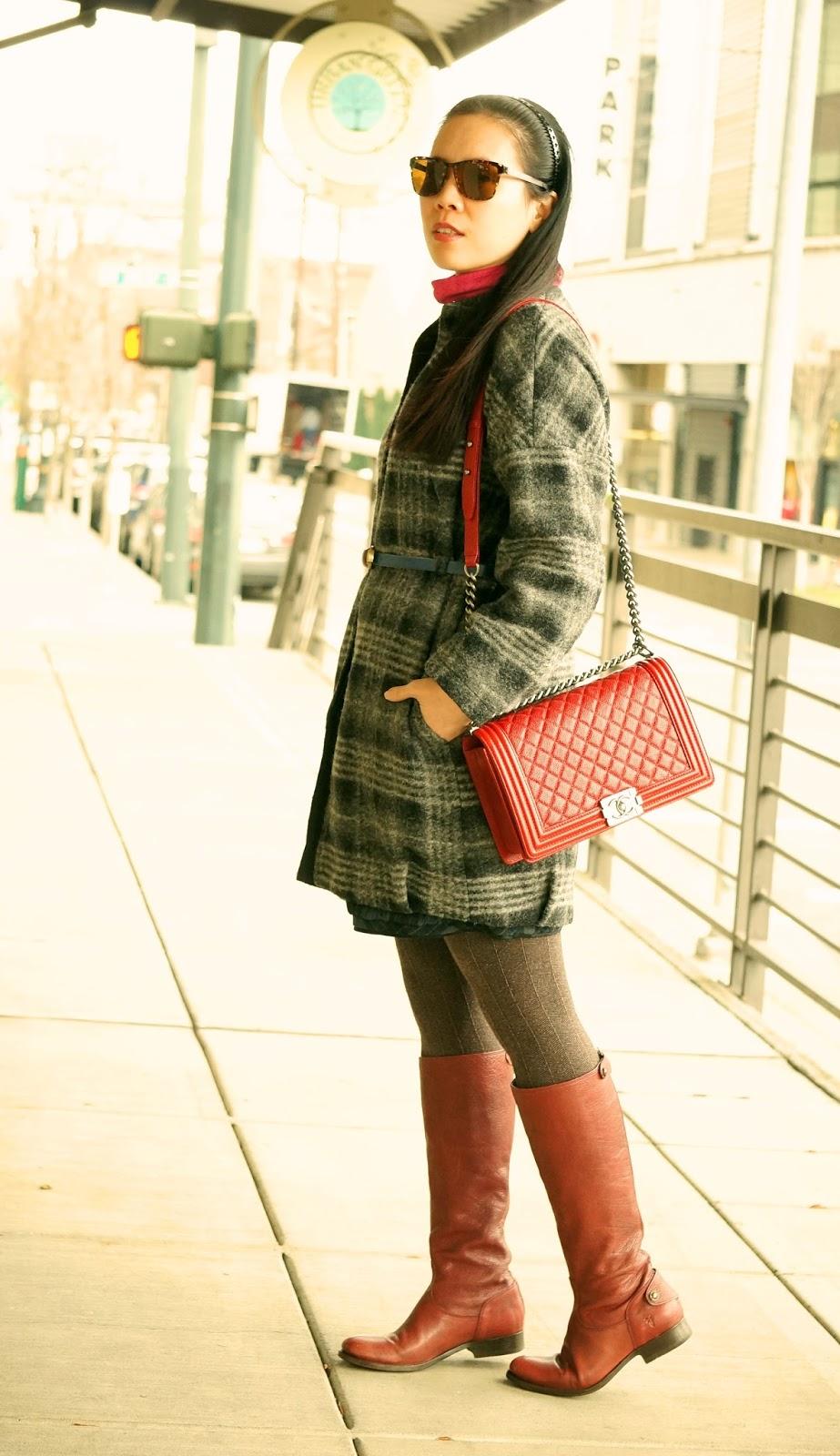 Kiwi Fashion Blog Teddy Bear Cocoon Coat And Chanel Le