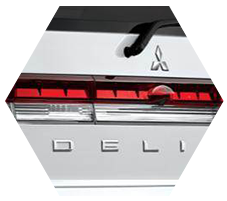 Rear Combination Lamp and back design with luxurious accent delica