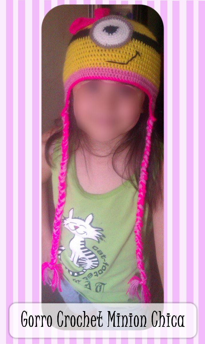 DIY: Gorro a crochet Minion chica