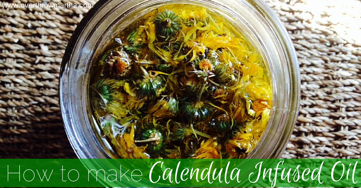 How to make your own calendula oil for fabulous skin