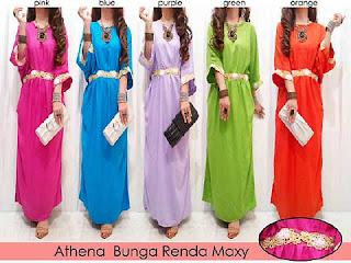 Dress Athena Bunga Renda