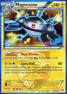 Magnezone Plasma Storm Pokemon Card