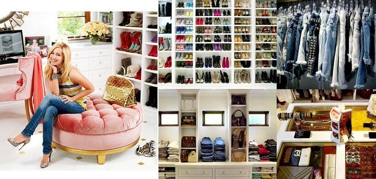 Tacones que dejan huella el top 10 de los mejores closets de las famosas mas glamurosas - Mundo armario ...