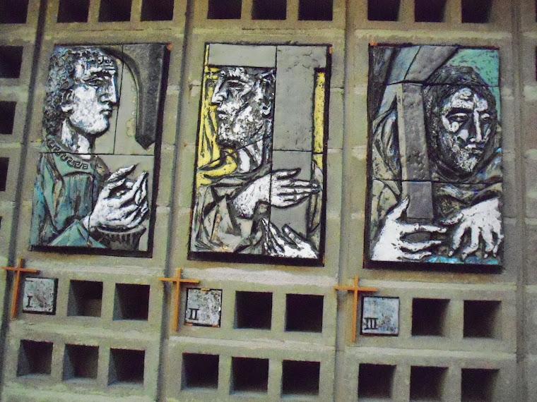 4 Chemin de croix en céramique