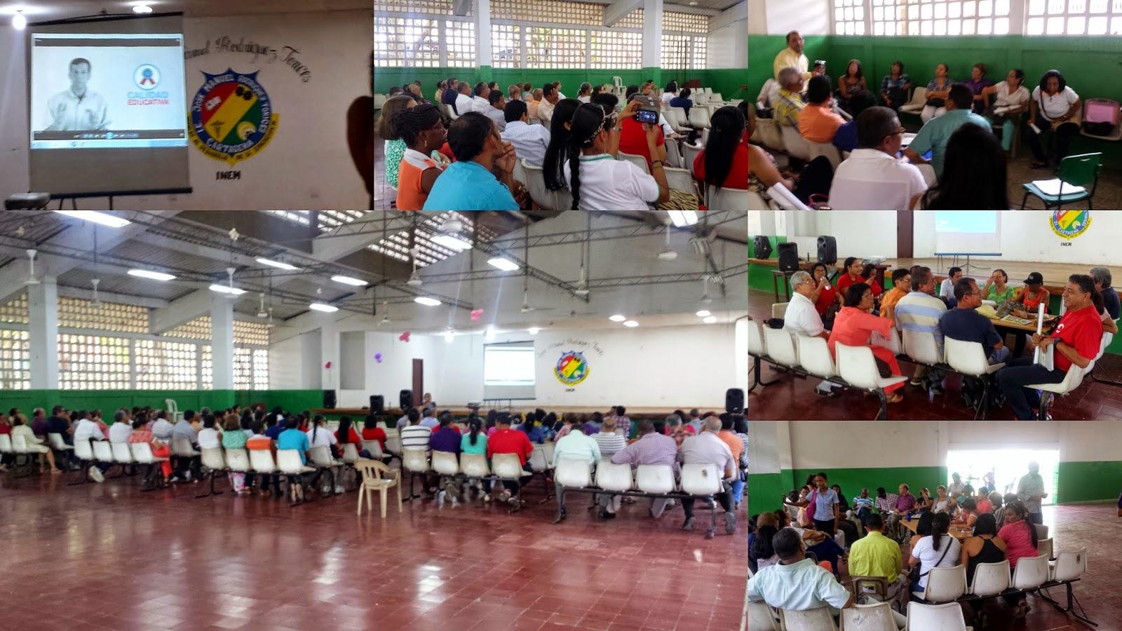 El Antidía E en el INEM Cartagena Co.25 de marzo 2015