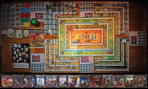 L 39 impero delle tenebre talisman e le sue espansioni - Talisman gioco da tavolo ...