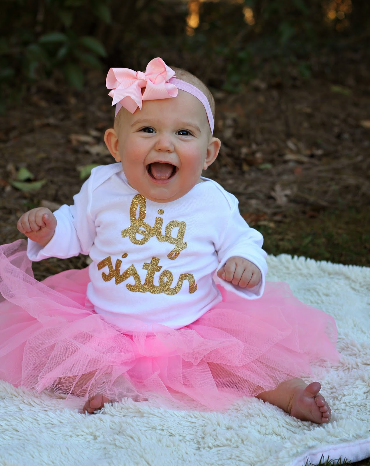 Carolina Charm Some Exciting News – Big Sister Birth Announcement