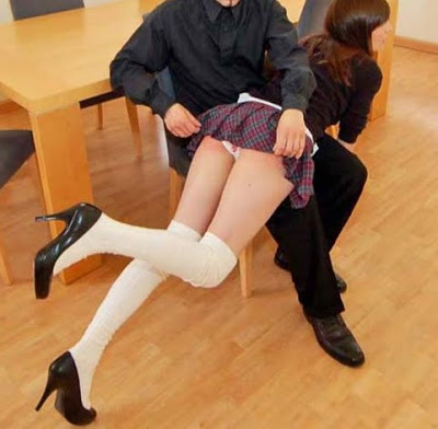 Splendid Spank give it up skirt whimpered