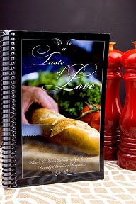 Order a copy of A TASTE Of LOVE cookbook!