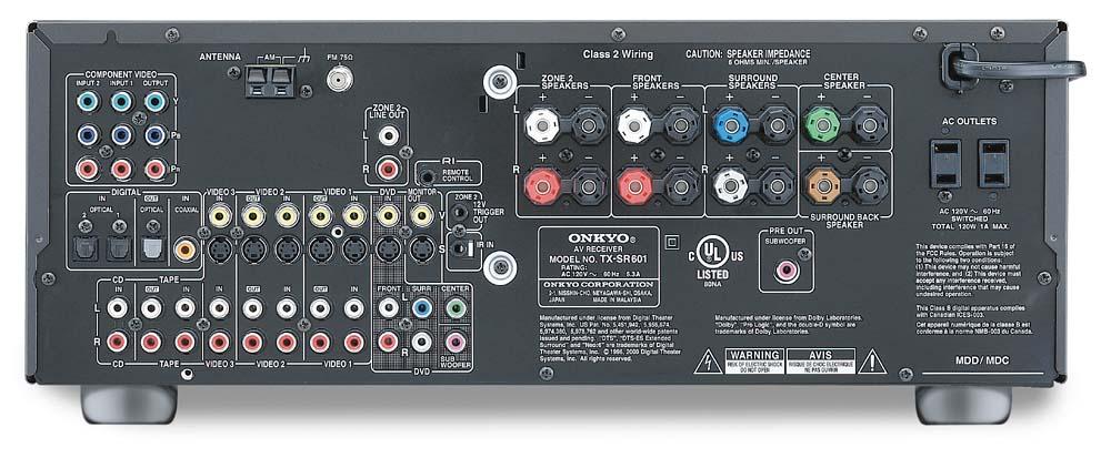 onkyo tx sr601 av receiver audiobaza rh audiobaza blogspot com