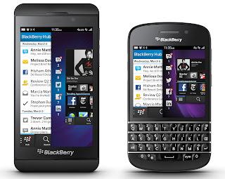 BlackBerry Q10 HP Tercanggih dan Terbaru 2013