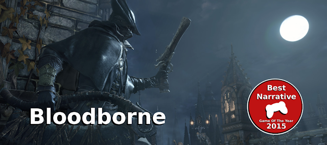 bloodborne best narrative of 2015 gamedropzone