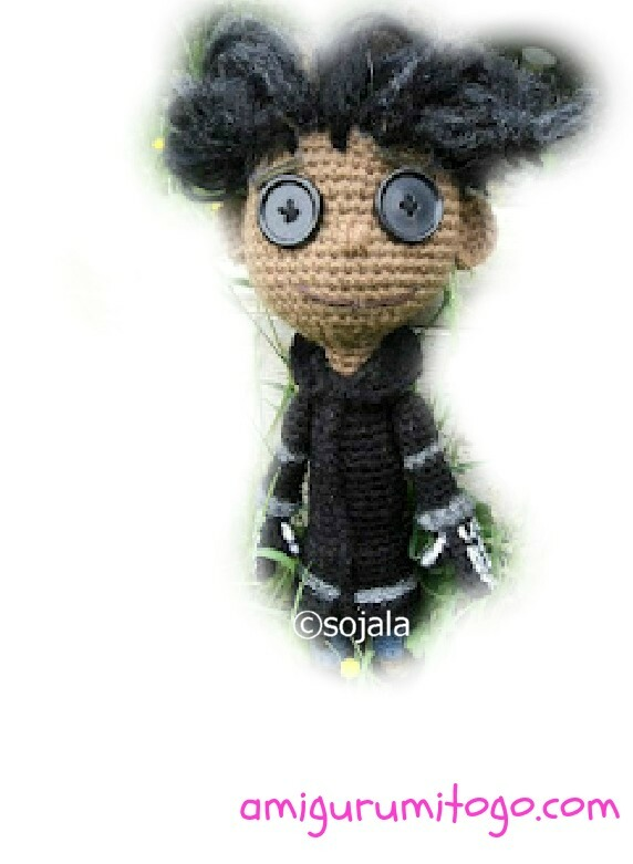 Amigurumi To Go Coraline : Homemade Obsessions: Wybie Doll Video Tutorial