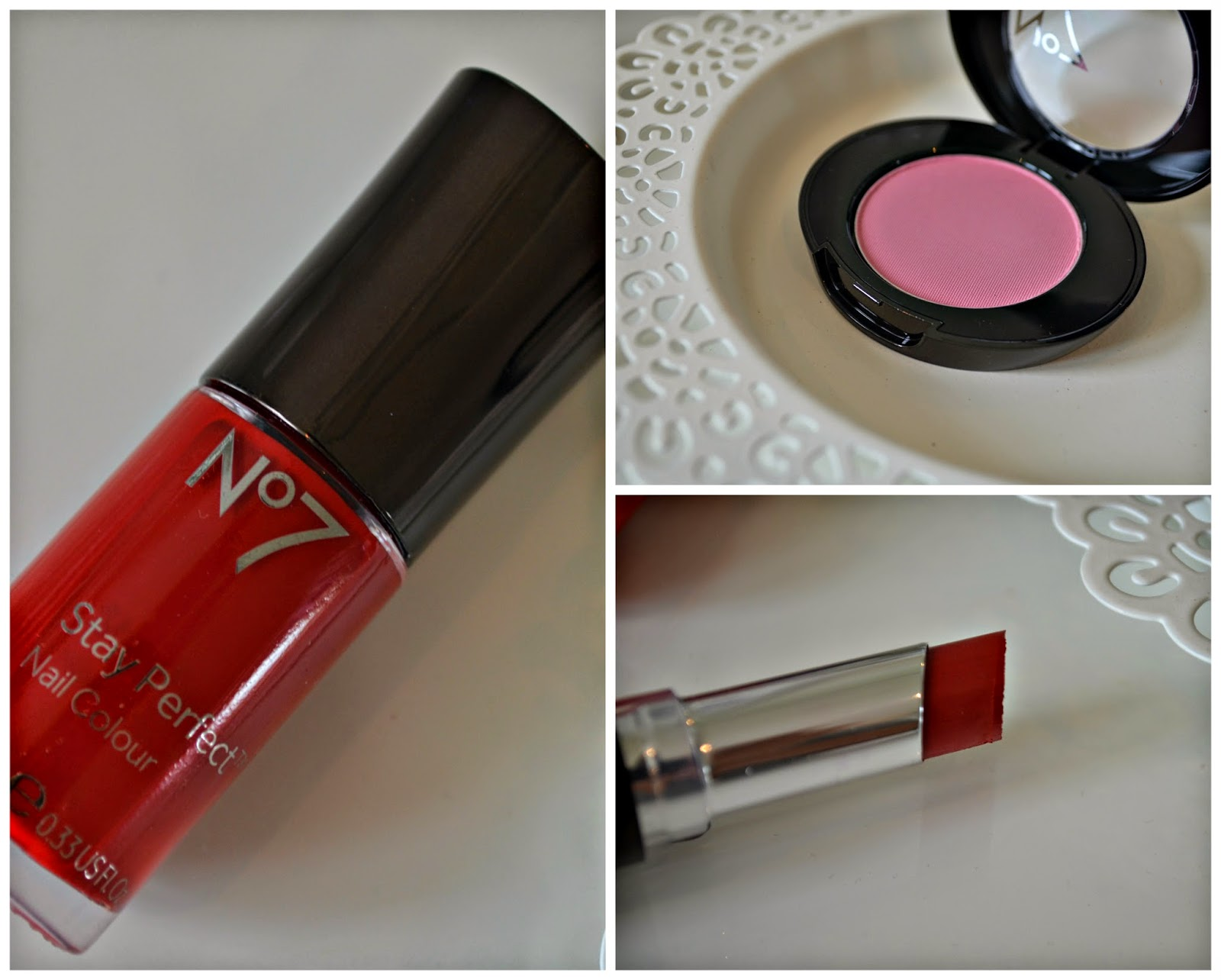 No 7 Summer Makeup: Look 3 The Red Collection