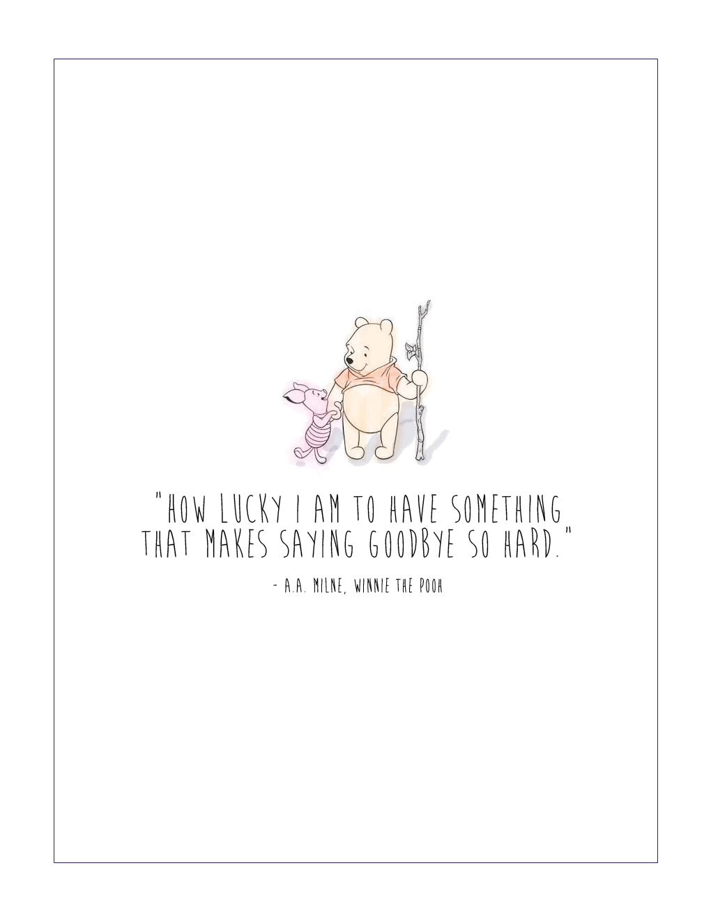 Winnie The Pooh Quotes About Life Free Winnie The Pooh Printable
