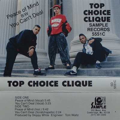 Top Choice Clique ‎– Peace Of Mind / You Can't Deal (1990, VLS, VBR)