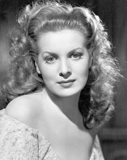 Maureen O'Hara black and white