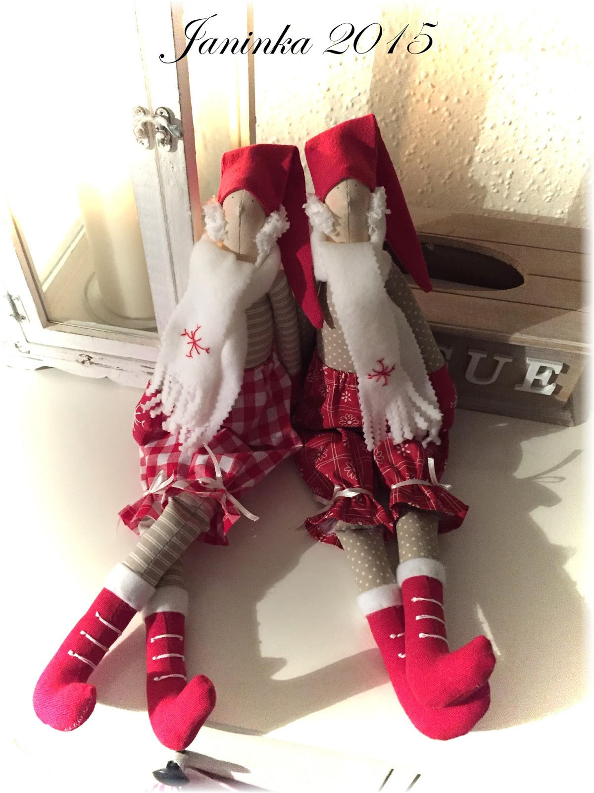 Jana Vavříková  Vánoční skřítci a punčocha pro Adélku na přání 9438c1ee3a