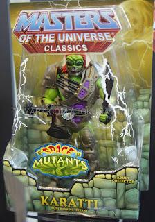 Mattel Matty Collector 2013 Toy Fair Display - Masters of the Universe MOTU Classics Karatti figure