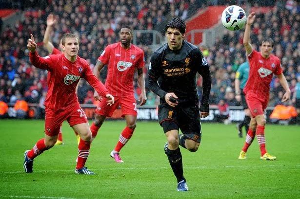 Prediksi Southampton vs Liverpool 2 Maret 2014