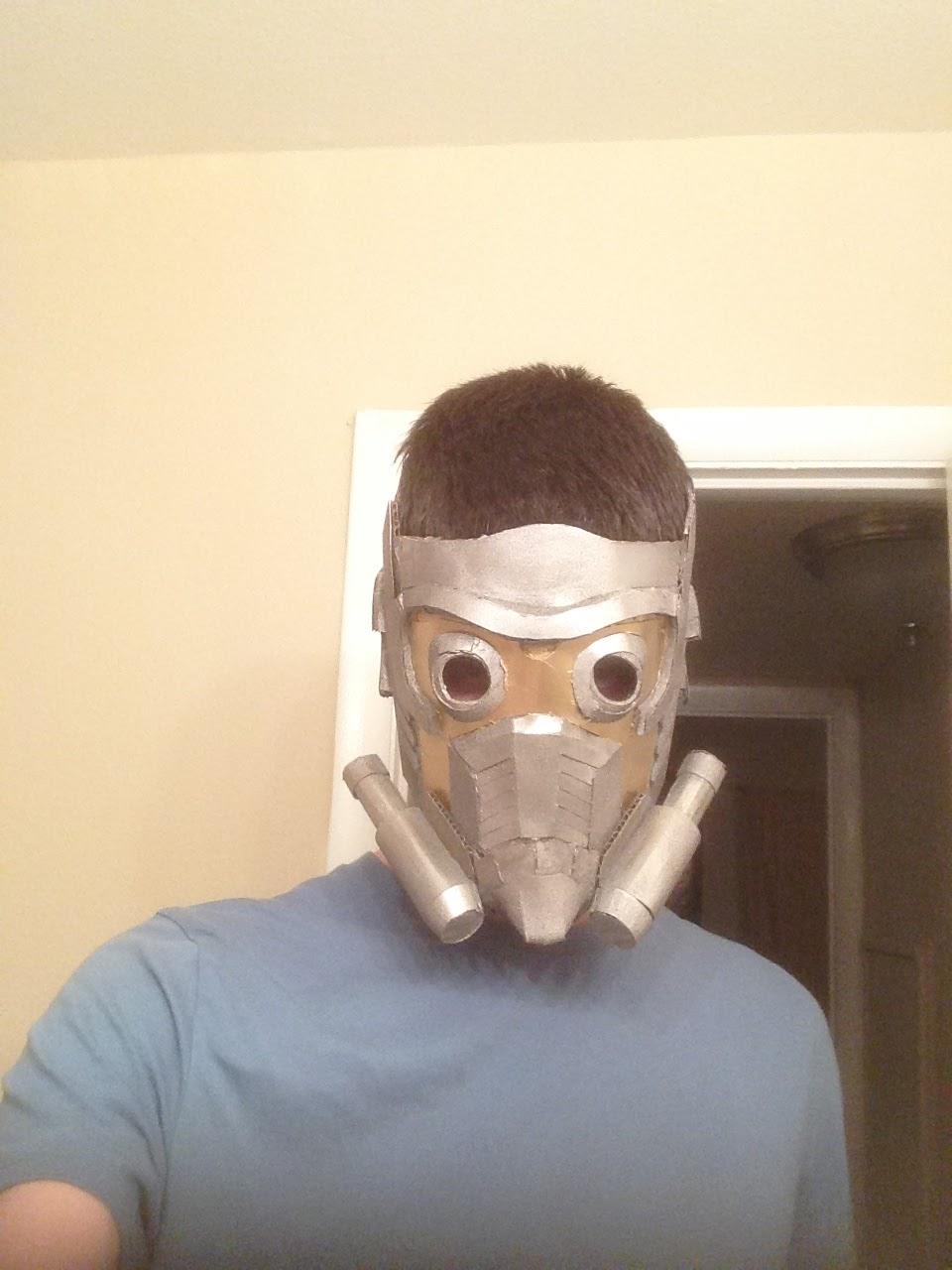 halloweenworks diy star lord cardboard mask