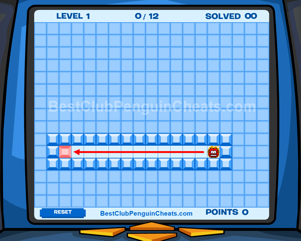Club Penguin Thin Ice Cheats Level 1