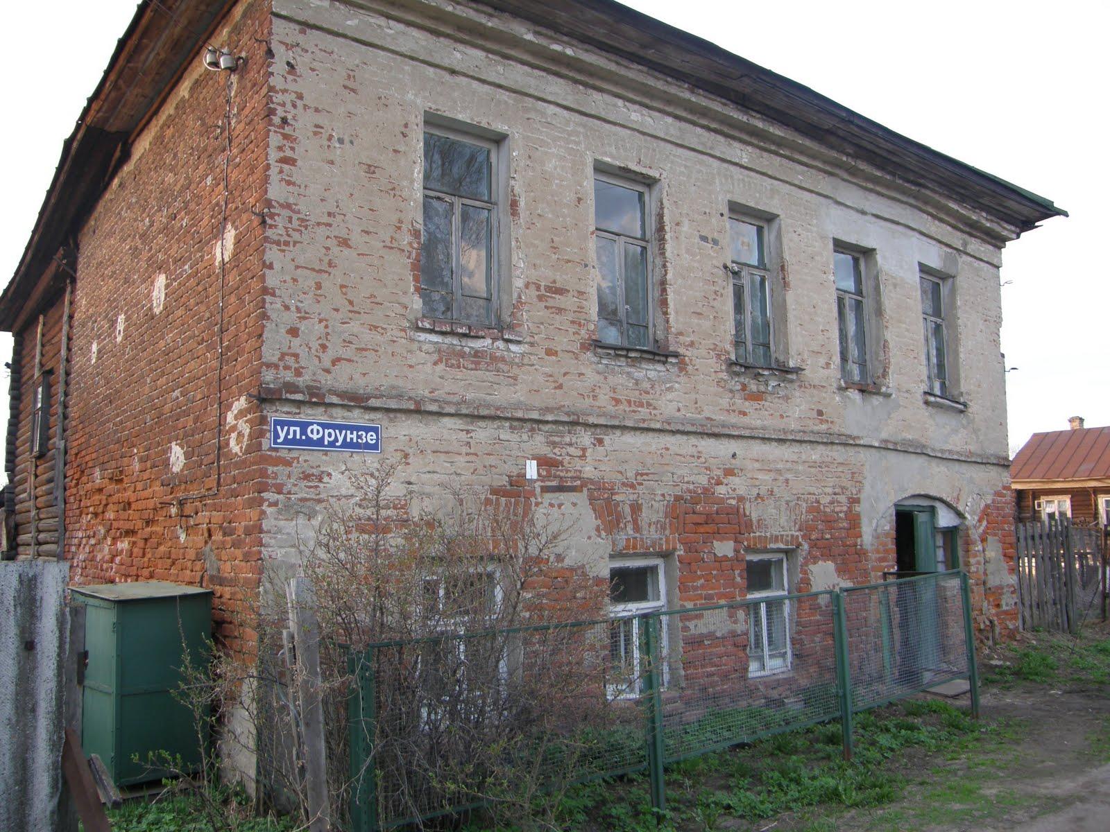 Старые дома села поречье