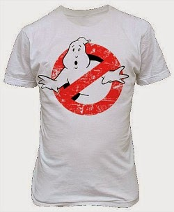 Distressed Ghostbusters Logo 80s T-shirt