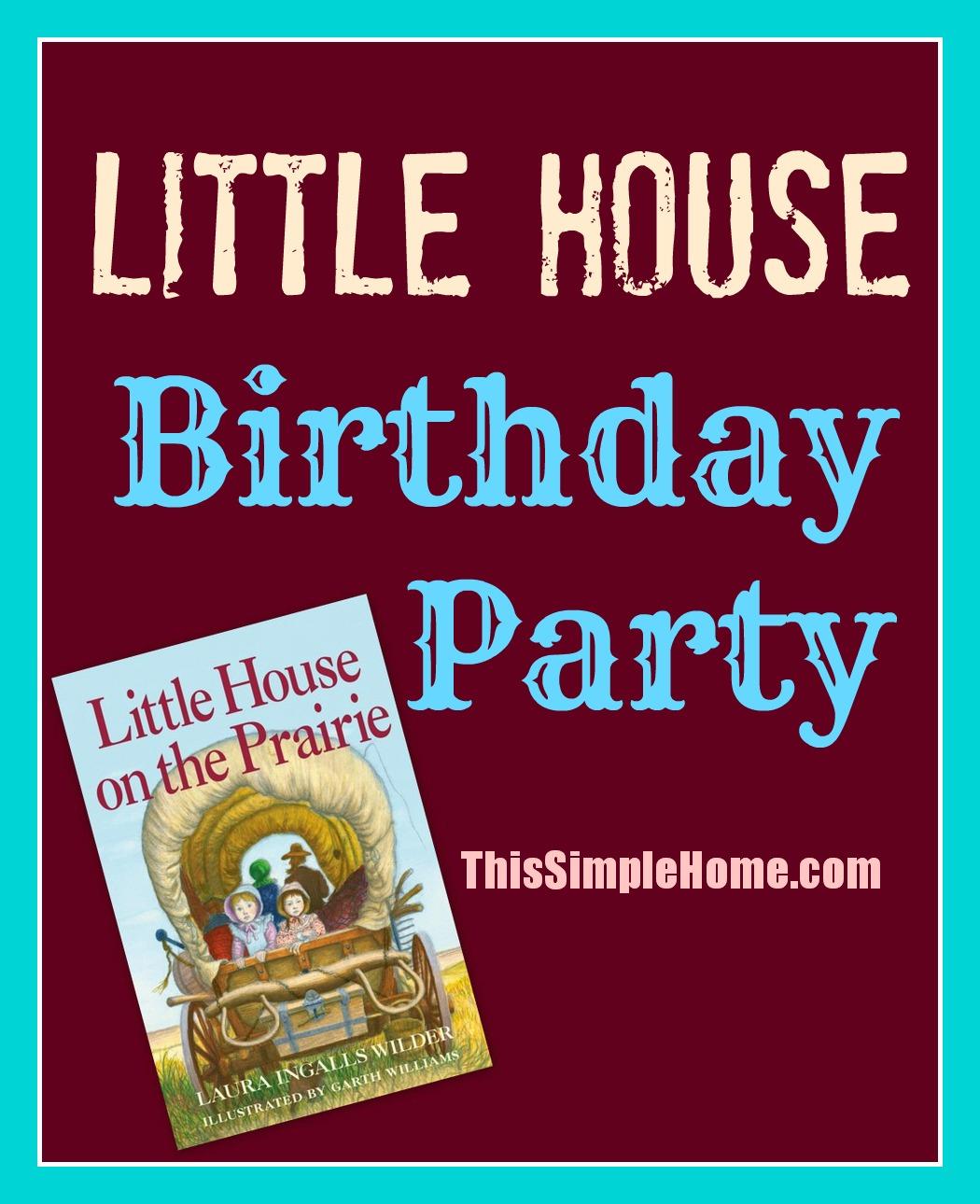 Little House On The Prairie Food Ideas