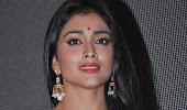 Sweet shriya chandra audio launch in white saree