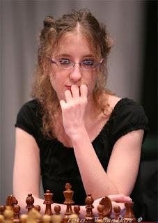 Échecs : la Française Marie Sebag (2521) © ChessBase