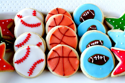 All Star Sports Cookies