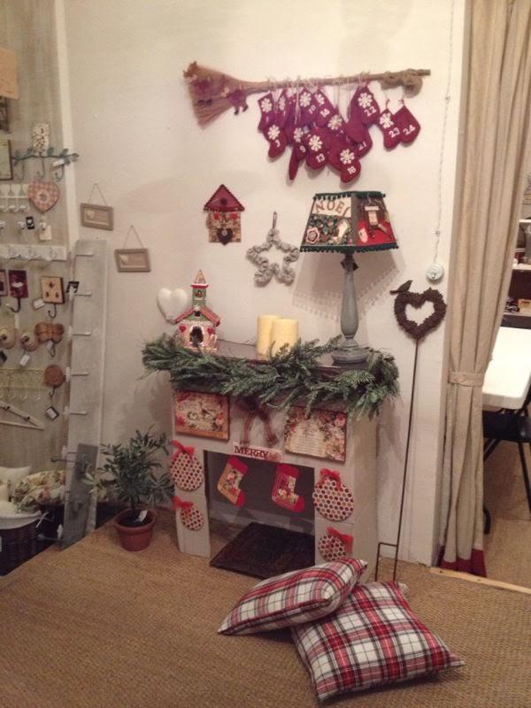 Chimenea de carton - Chimeneas decoradas ...