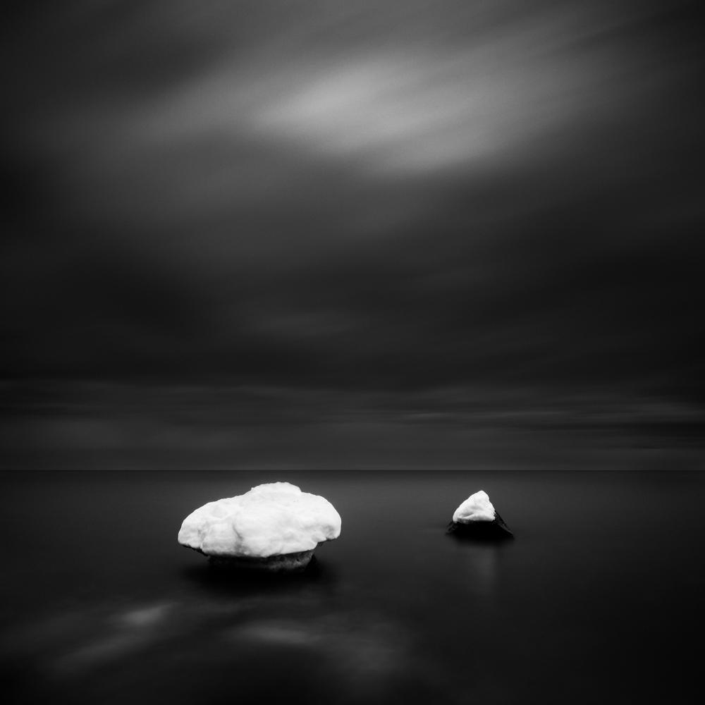 La visi n de 4 fot grafos del paisaje en blanco y negro el paisaje perfecto - Fotos en blanco ...