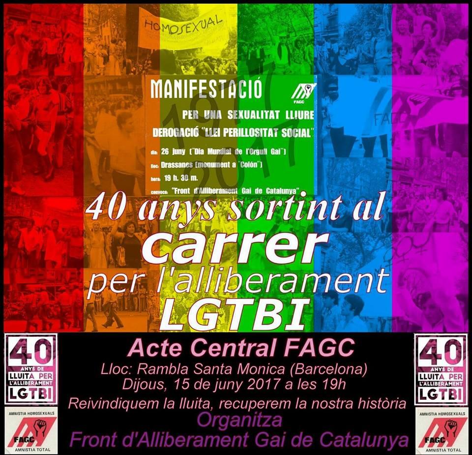 40 ANYS MANIFESTACIÓ FAGC